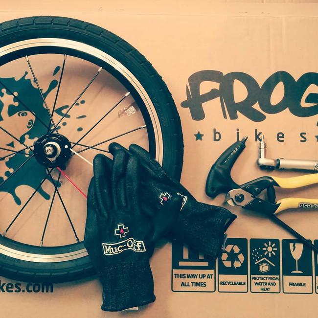 Wo sind all die Frog Bikes hin?